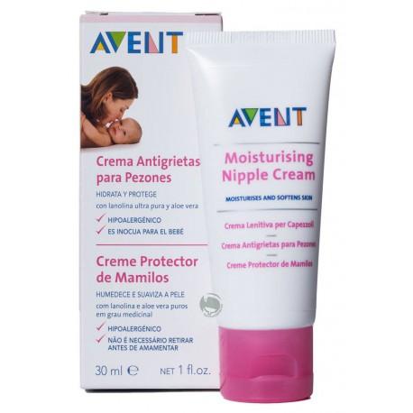crema de Avent para evitar grietas en el seno por amamantar