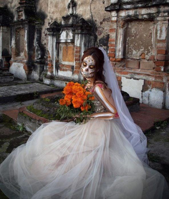Catrina de novia