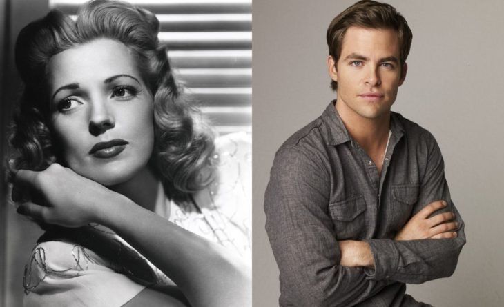 Anne Gwynne & Chris Pine