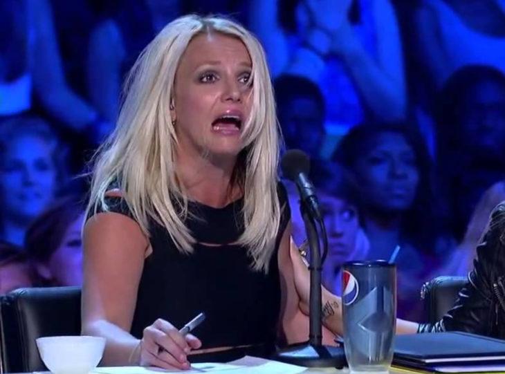 Britney Separs gritando