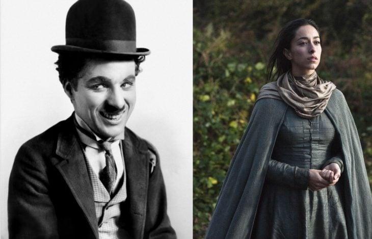 Charles Chaplin y Oona Chaplin