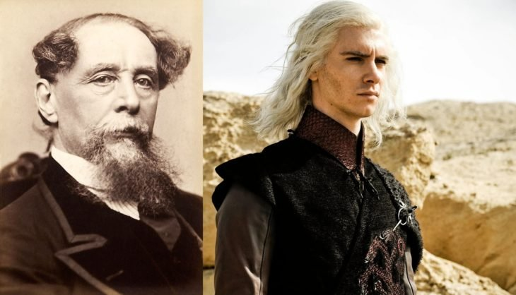 Charles Dickens y Harry Lloyd