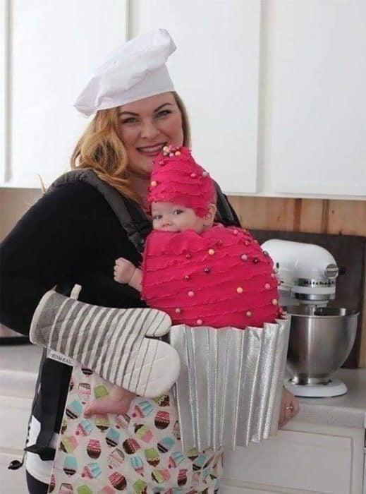 Chef y pastelito