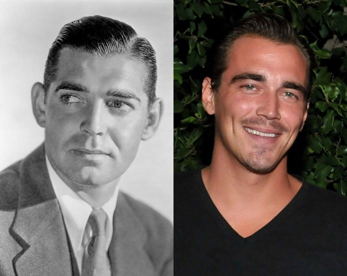 Clark Gable y Clark James Gable