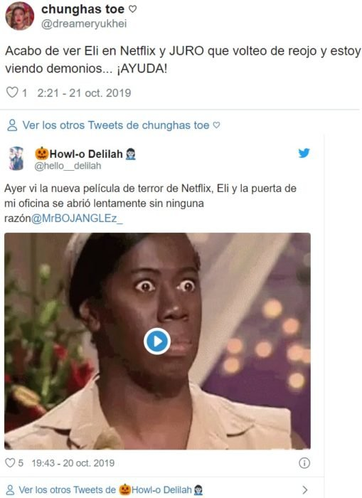 Comentarios Eli Netflix