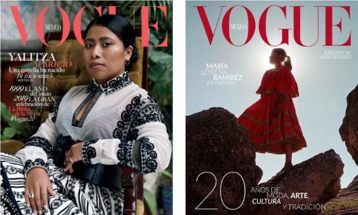 portadas de Vogue con Yalitza Aparicio y la corredora Lorena Ramírez