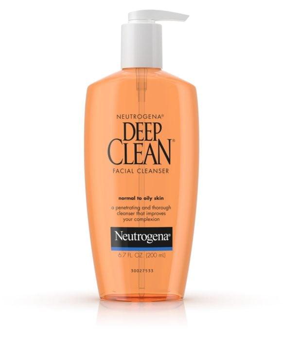 Crema limpiadora deep clean de neutrogena