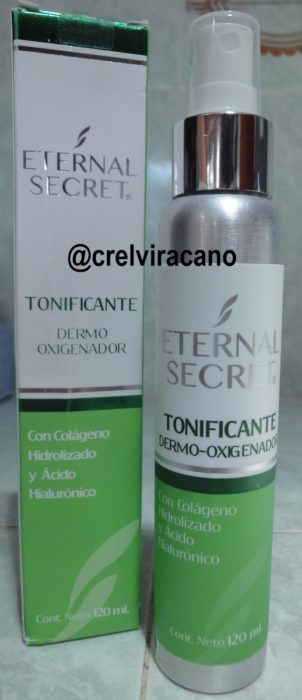 Tonificante eternal secret de color verde