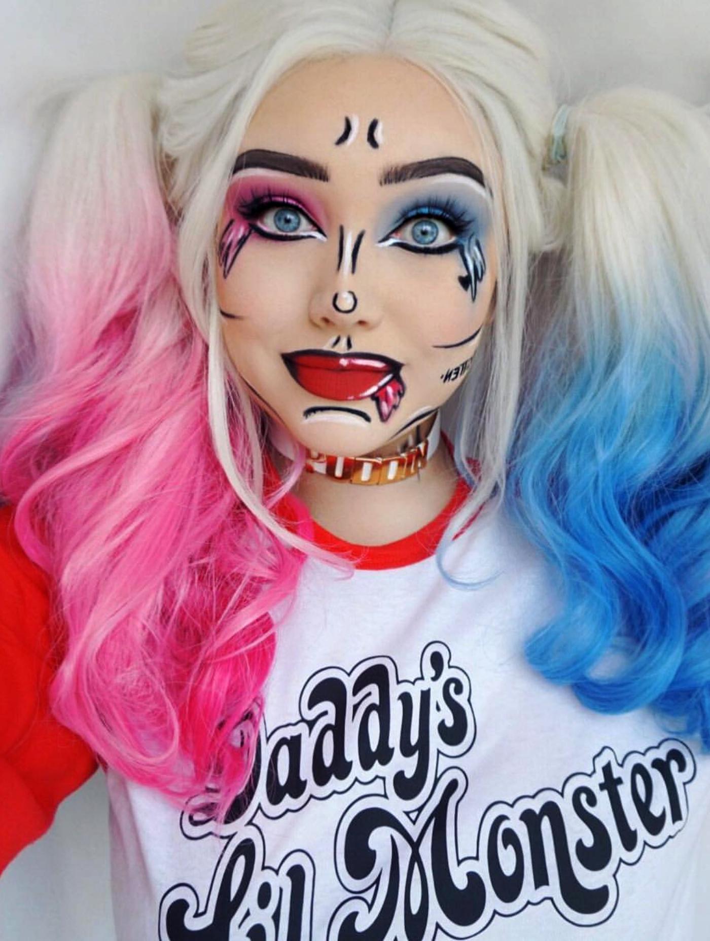 Modi per ottenere un perfetto trucco pop art su Halloween