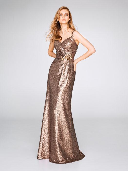 Dorado vestido