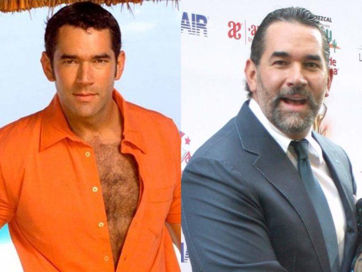 Eduardo Santamarina antes y después