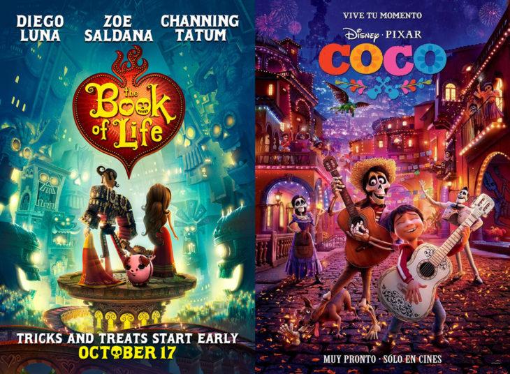 Película del Día de Muertos, El libro de la vida; Coco