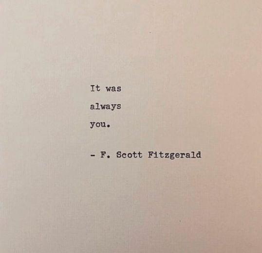 Frase de frase de F.Scott Fitzgerald