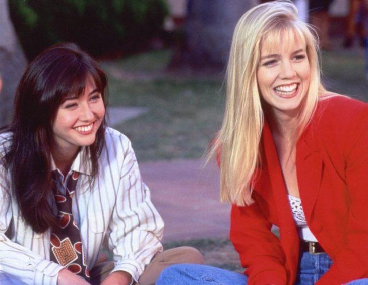 Jennie Garth y Shannen Doherty