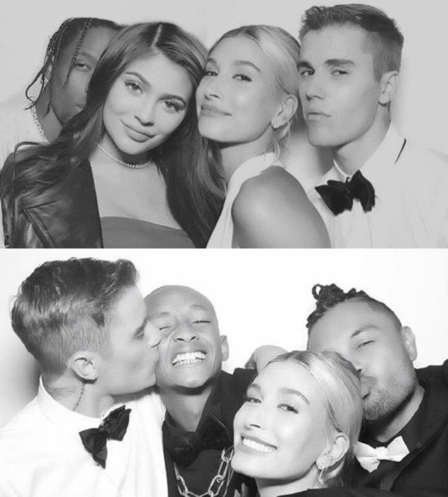 Justin Bieber y Hailey Baldwin se casan por la iglesia; Kylie Jenner, Travis Scott y Jaden Smith