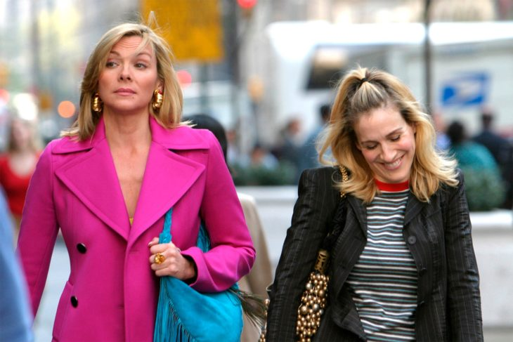 Kim Cattrall y Sarah Jessicade Sex and the City