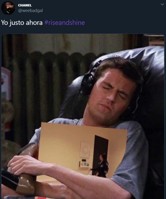 Kylie Jenner se vuelve meme después de cantar Rise and shine a Stormi; Chandler de Friends
