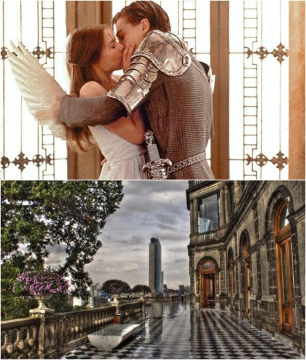 Castillo de Chapultepec. como locación en Romeo y Julieta