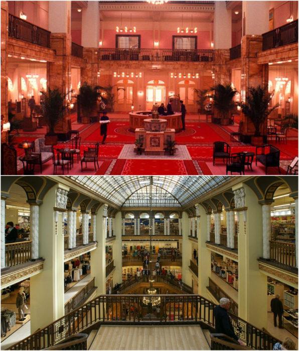 Tienda departamental Görlitzlocación de la película El gran hotel Budapest
