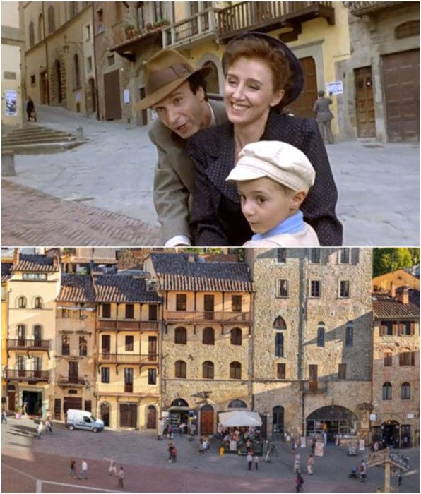 La Toscana locación de la película La vida es bella
