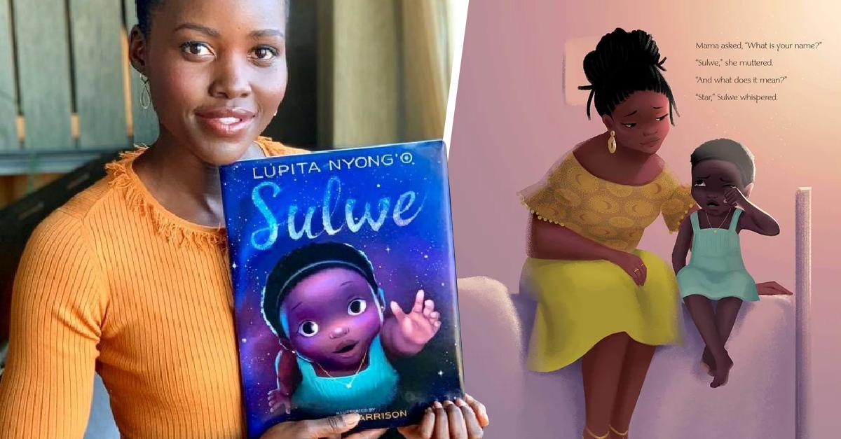 Lupita Nyong'o lanzará un libro para que las niñas de color se acepten
