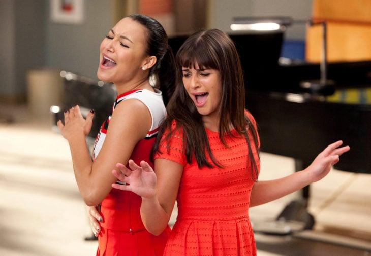 Naya Rivera y Lea Michelle