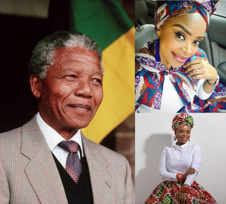 Nelson Mandela y Zoleka Mandela