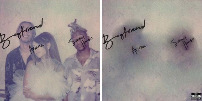 Ariana Grande, portada del disco Boyfriend