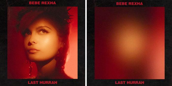 Bebe Rexha, portada del disco Last Hurrah