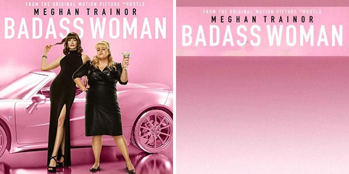 Meghan Trainor, portada del disco Badass Woman