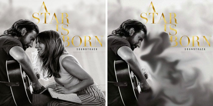 Lady Gaga, portada del disco A Star Is Born