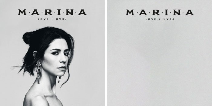 Marina, portada del disco Love Fear