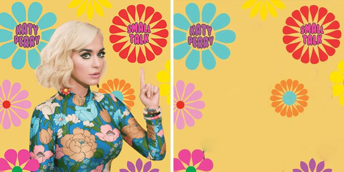 Katy Perry, portada del disco Small Talk