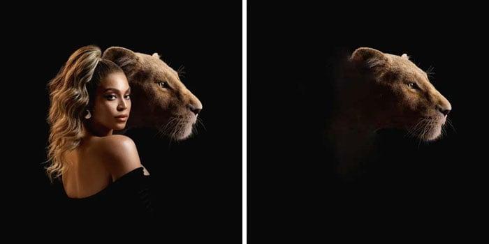 Beyoncé, portada del disco Spirit