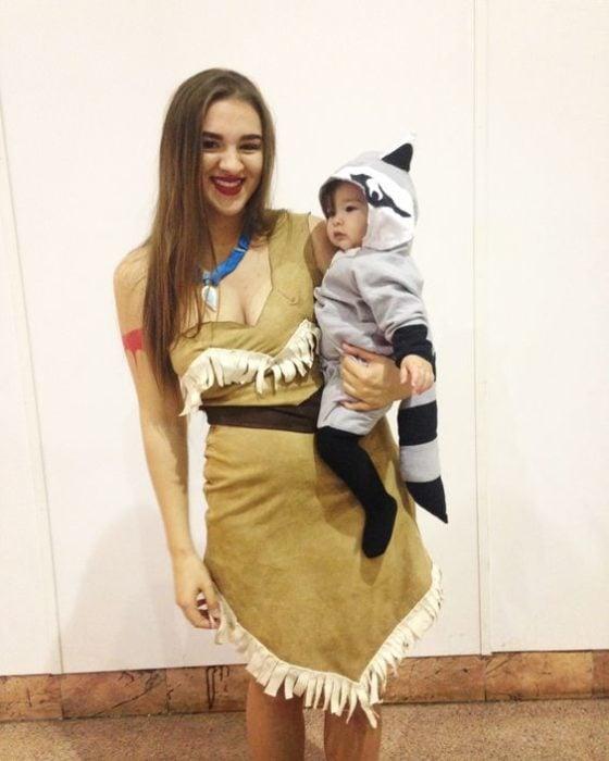 Pocahontas y Miko