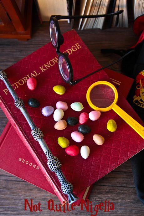 Grajeas de todos los sabores de Harry Potter y La Piedra Filosofal