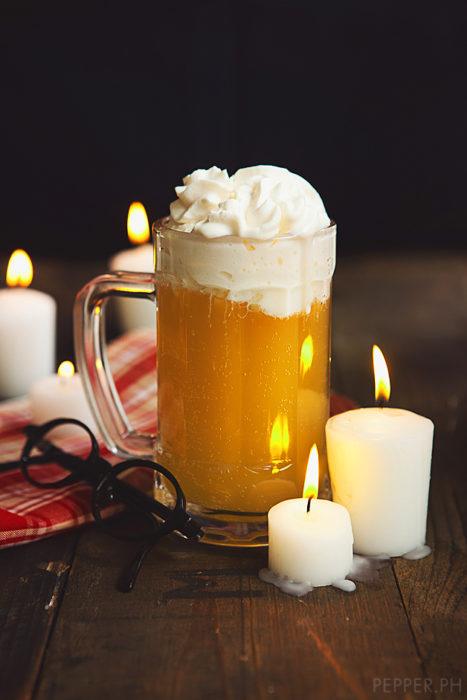 Cerveza de Mantequilla que aparece en Harry Potter