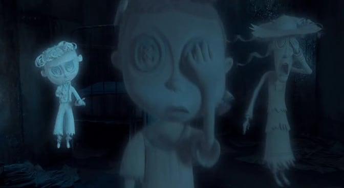 Fantasmas de los niños que tenía la otra madre de Coraline