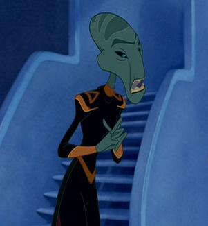 Personaje de Lilo y Stitch del ejercito intergaláctico