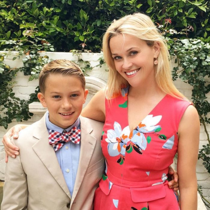 Reese Witherspoon e hijo