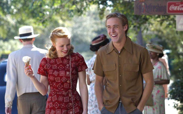 Ryan Gosling y Rachel McAdamas en Diario de una pasión
