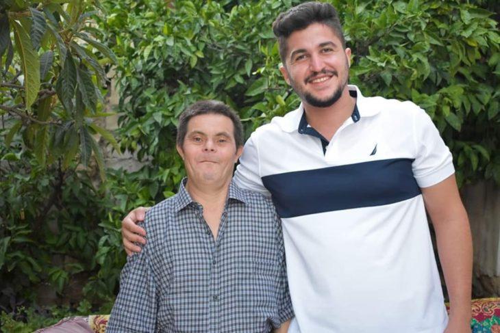 Sader Issa y su papá Jad