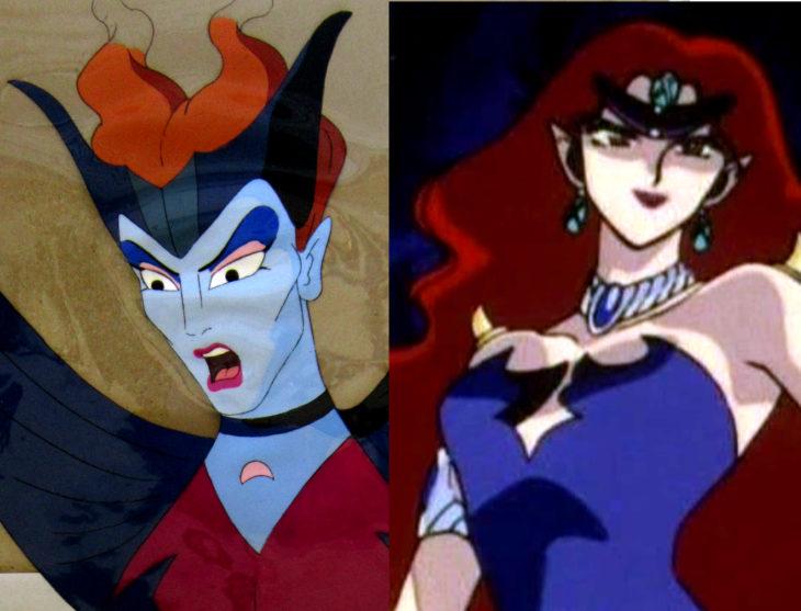 Versión americana de Sailor Moon; Reina Beryl