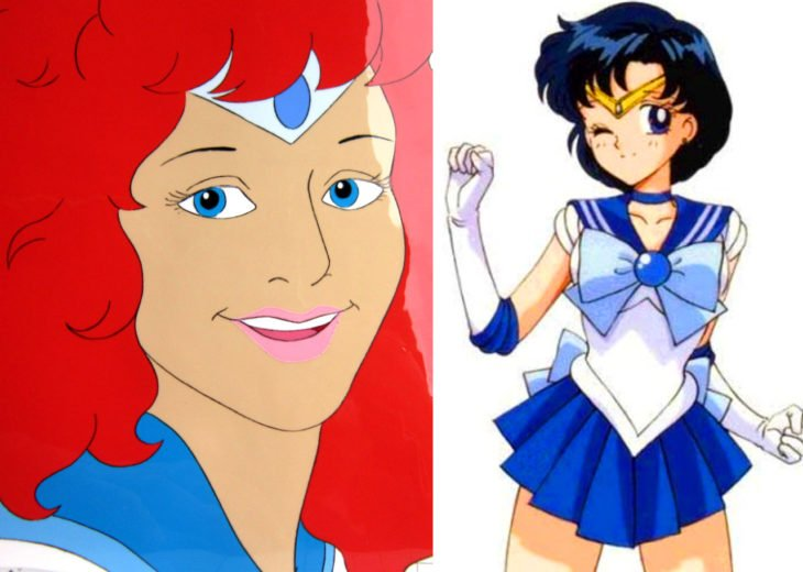 Versión americana de Sailor Moon; Ami Mizuno, Mercurio
