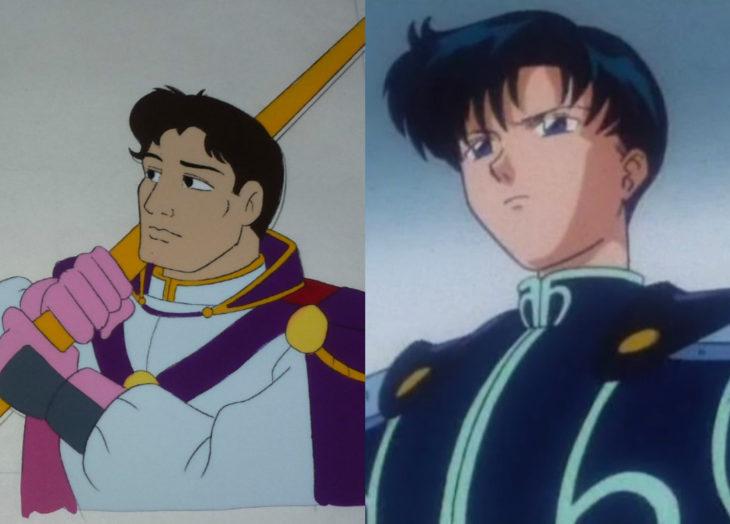 Versión americana de Sailor Moon; Darien, Endymion