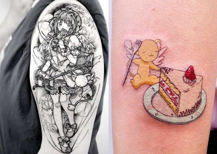 Tatuajes de caricaturas de Cartoon Network; Sakura Card Captors, Kero
