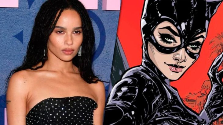 Zoe Kravitz lista para interpretar a Gatubela en la próxima película de Batman