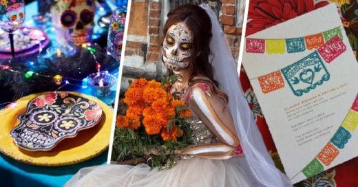 Ideas para una boda al estilo día de muertos