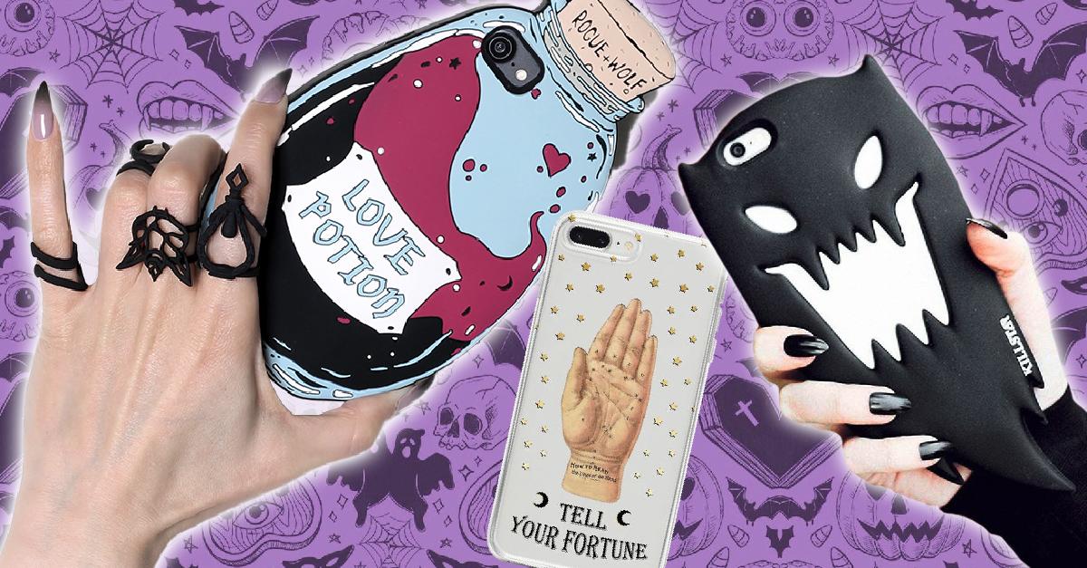 14 Terroríficas fundas para celular inspiradas en Halloween