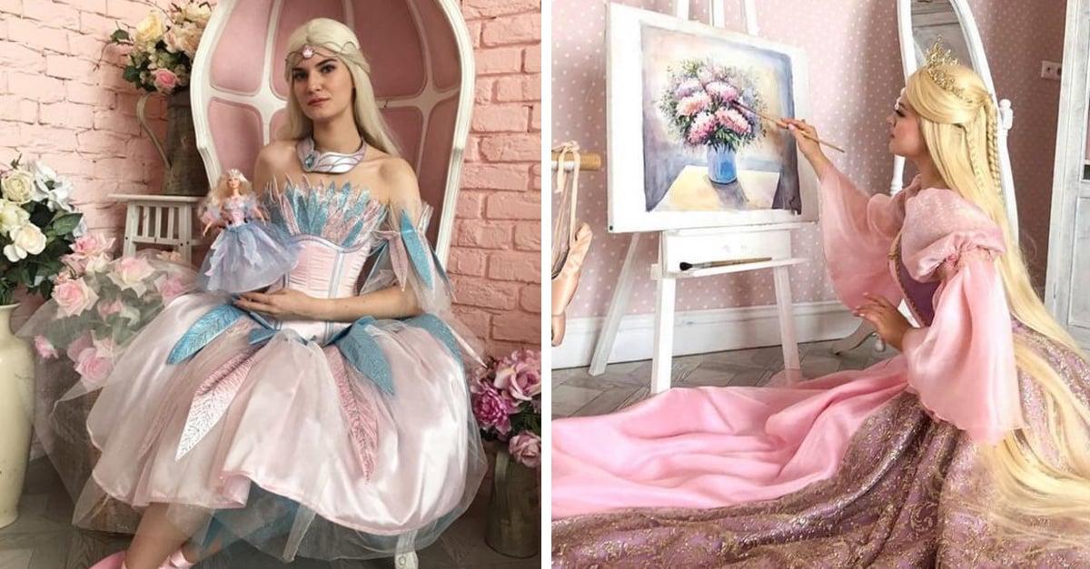 Cosplayers se disfrazan de sus películas de Barbie favoritas; ¡justo en la nostalgia!